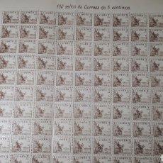 Sellos: 100 SELLOS ESPAÑA AÑO 1949 DIF. 1044 VALOR 30 EUROS. Lote 197780988