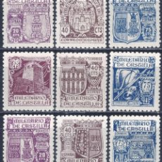 Sellos: EDIFIL 974-982 MILENARIO DE CASTILLA 1944 (SERIE COMPLETA). VALOR CATÁLOGO: 50 €. LUJO. MNH **. Lote 198135241
