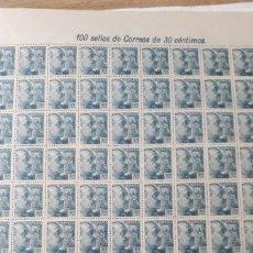 Sellos: 100 SELLOS DE ESPAÑA AÑOS 1940-45 EDIF. 924 VALOR 110 EUROS. Lote 198204705