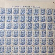 Sellos: 99 SELLOS DE ESPAÑA AÑO 1940-45 EDIF. 926 VALOR 100 EUROS POR EL DEFECTO DE LA FOTOGRAFIA. Lote 198205238