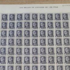 Sellos: 100 SELLOS DE ESPAÑA NUEVOS AÑO1946 ALGUNA MARCA DE OXIDO EN LA GOMA TRASE. Lote 198239802