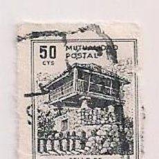Francobolli: PAREJA SELLOS USADOS MUTUALIDAD POSTAL 1947. HORREO GALLEGO. Lote 199839117