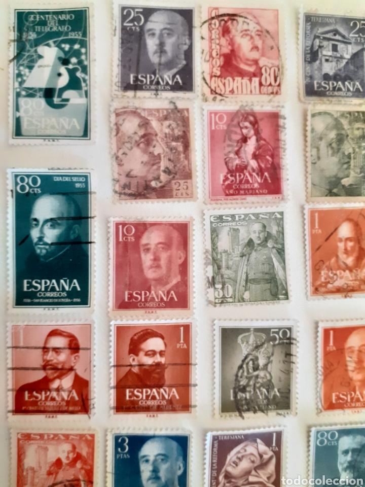 Sellos: Lote de 35 sellos usados, del estado español - Foto 2 - 202658757