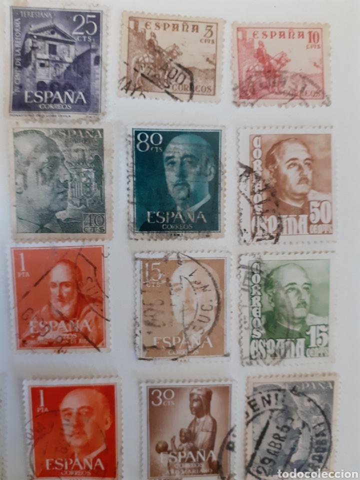 Sellos: Lote de 35 sellos usados, del estado español - Foto 3 - 202658757