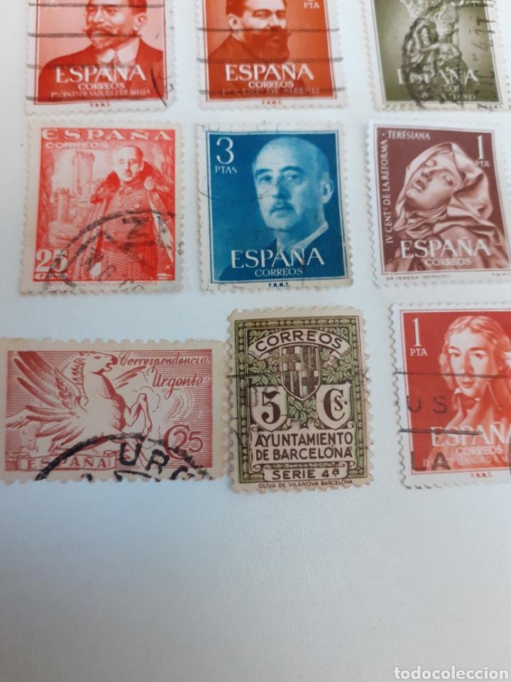Sellos: Lote de 35 sellos usados, del estado español - Foto 4 - 202658757