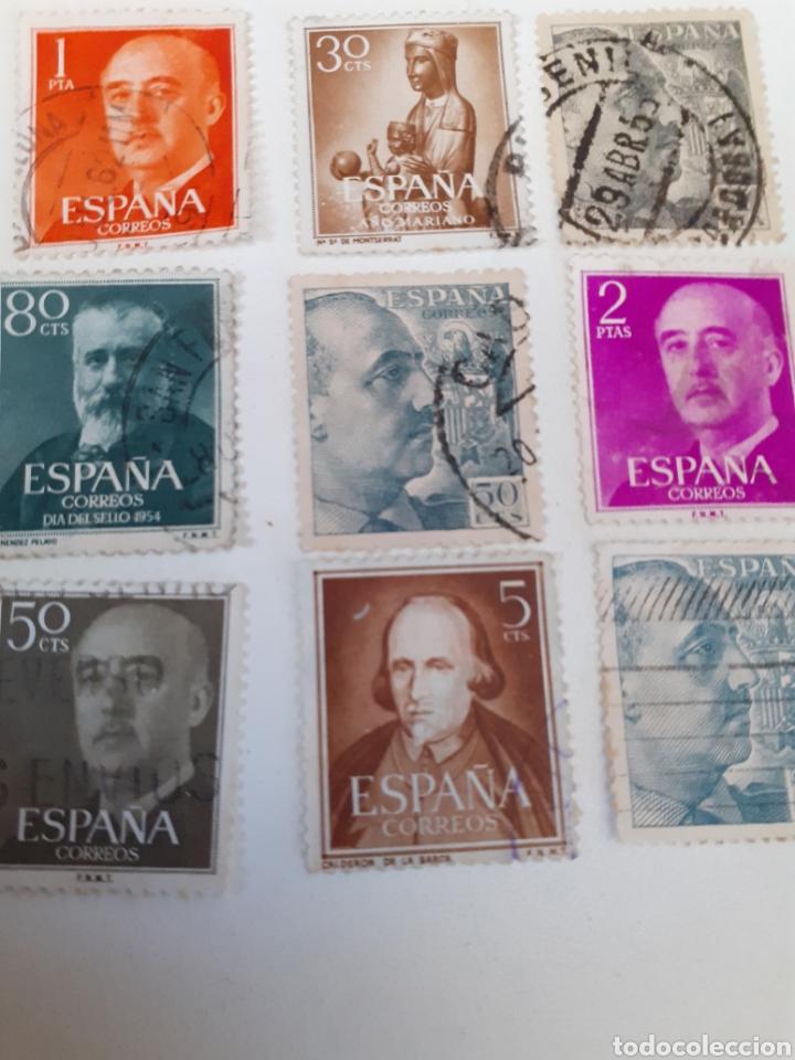 Sellos: Lote de 35 sellos usados, del estado español - Foto 5 - 202658757
