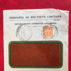 Sellos: ESPAÑA FRONTAL DE SOBRE. Lote 204317306