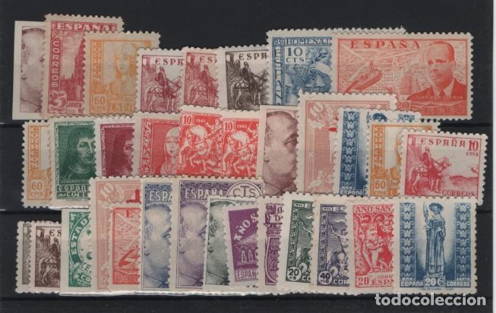 R75/ ESPAÑA, LOTE SELLOS NUEVOS **/* (Sellos - España - Estado Español - De 1.936 a 1.949 - Nuevos)