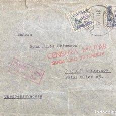 Sellos: ESTADO ESPAÑOL: CARTA AÑO 1938. Lote 204992675