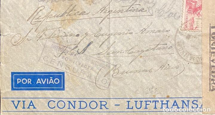 ESTADO ESPAÑOL: CARTA CIRCULADA EN 1941 (Sellos - España - Estado Español - De 1.936 a 1.949 - Cartas)