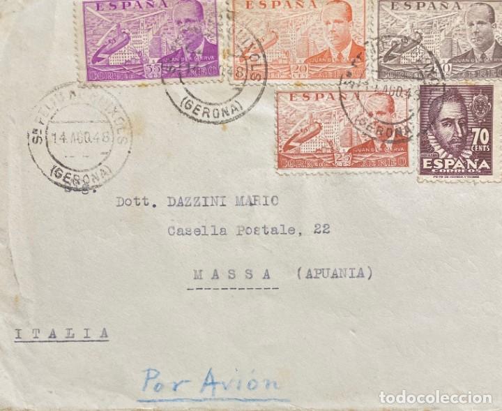 ESTADO ESPAÑOL: CARTA CIRCULADA EL AÑO 1948 (Sellos - España - Estado Español - De 1.936 a 1.949 - Cartas)