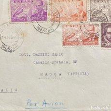 Sellos: ESTADO ESPAÑOL: CARTA CIRCULADA EL AÑO 1948. Lote 205102803