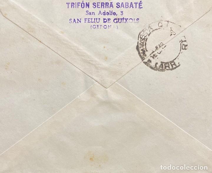 Sellos: ESTADO ESPAÑOL: CARTA CIRCULADA EL AÑO 1948 - Foto 2 - 205102803