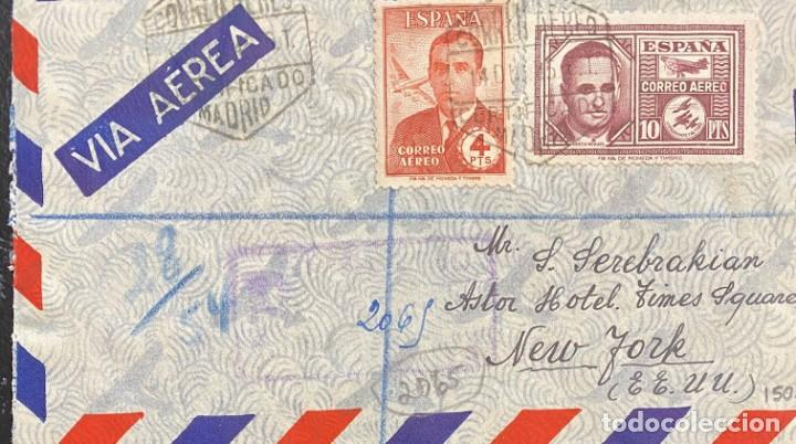 ESTADO ESPAÑOL: CARTA CIRCULADA AÑO 1945 (Sellos - España - Estado Español - De 1.936 a 1.949 - Cartas)
