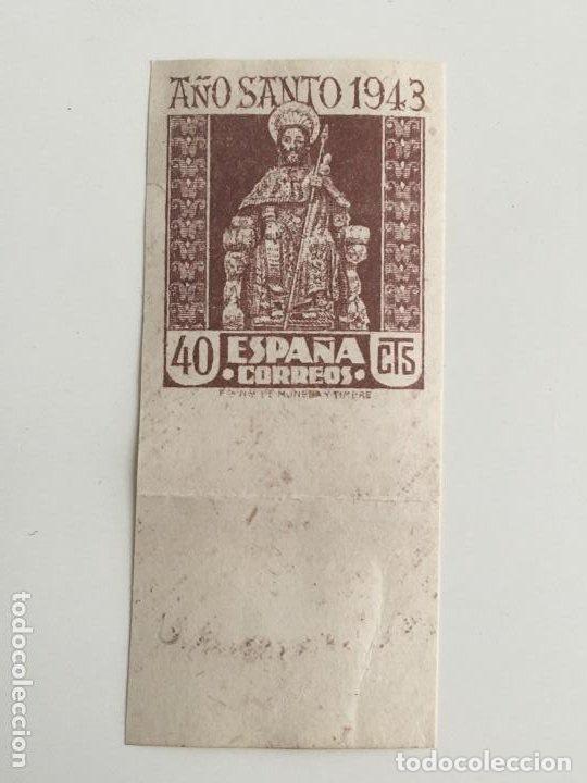 ESPAÑA - EDIFIL 962 - SIN DENTAR - NUEVO CON GOMA Y CON FIJASELLOS (Sellos - España - Estado Español - De 1.936 a 1.949 - Nuevos)