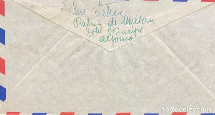 Sellos: ESTADO ESPAÑOL CARTA AÑO 1954 - Foto 2 - 206117302