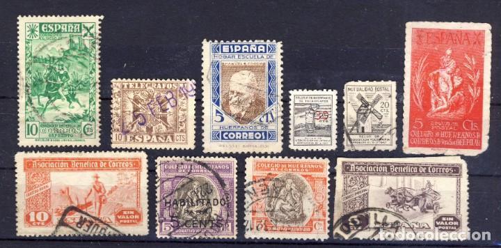 COLEGIO DE HUÉRFANOS DE CORREOS Y TELÉGRAFOS.- (Sellos - España - Estado Español - De 1.936 a 1.949 - Usados)