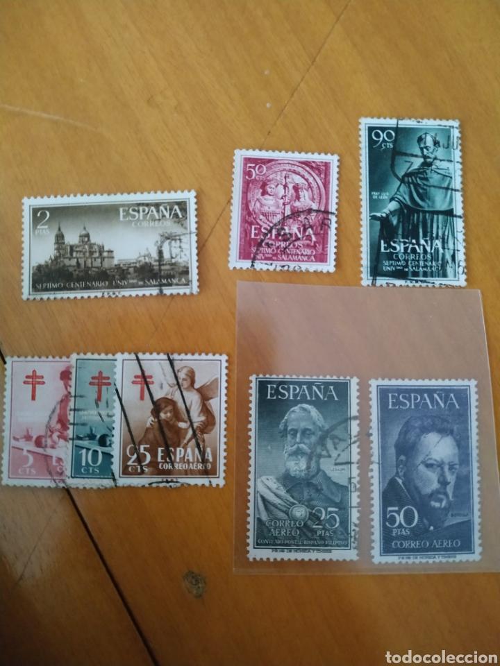 ESPAÑA SELLOS 1121-1128 USADOS AÑO1953 (Sellos - España - Estado Español - De 1.936 a 1.949 - Usados)