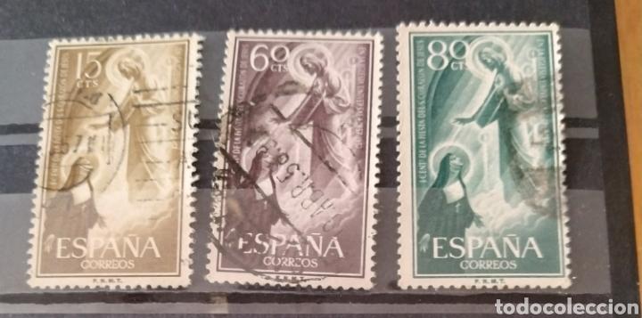 ESPAÑA SELLOS 1206-1208 AÑO 1957 (Sellos - España - Estado Español - De 1.936 a 1.949 - Usados)