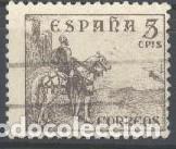 ESPAÑA - AÑO 1948-1955 - EDIFIL 1044 - CID Y GENERAL FRANCO - USADO (Sellos - España - Estado Español - De 1.936 a 1.949 - Usados)