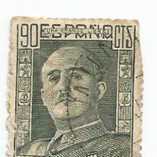 Sellos: SELLO USADO DE 1947- GENERAL FRANCO- 90 CTS- EDIFIL Nº 1060. Lote 206538115