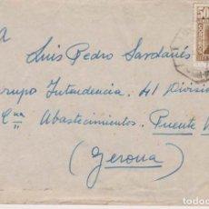Sellos: AÑO 1948 EDIFIL 1037 SOBRE COLL BLANCH A GERONA. Lote 206814795