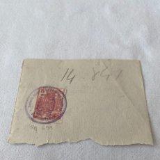 Sellos: SELLO FISCAL REFERENCIA 653 POR 15 PESETAS DE 1936. Lote 206973508