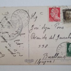 Sellos: CENSURA MILITAR - ITALIA / BARCELONA. Lote 207007061