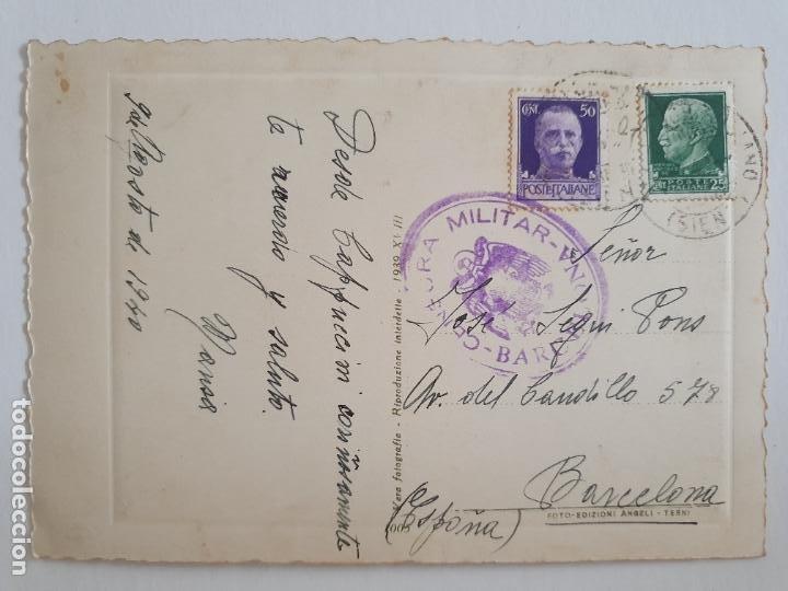 CENSURA MILITAR - ITALIA / BARCELONA (Sellos - España - Estado Español - De 1.936 a 1.949 - Cartas)