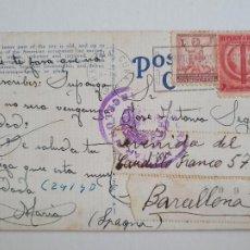 Sellos: CENSURA MILITAR - CUBA / BARCELONA. Lote 207008380