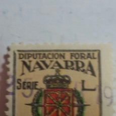 Sellos: SELLO DIPUTACIÓN FORAL DE NAVARRA. Lote 207447655