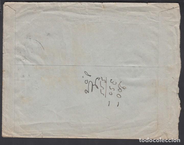 Sellos: Carta, Zaragoza - La Coruña, Circulada con sello del Centenario del la Virgen del Pilar - Foto 2 - 208098947