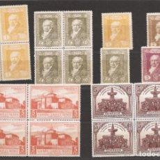 Sellos: SELLOS DE ESPAÑA AÑO 1930 PINTOR GOYA EN BLOQUE DE 4 SELLOS NUEVOS**. Lote 208140061