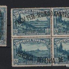 Sellos: R75/ ESPAÑA 1938, EDIFIL 289/90 MH*, II ANIV. DE LA DEFENSA DE MADRID, CATALOGO 22,00 €. Lote 208943322