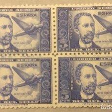Sellos: 1944-ESPAÑA EDIFIL 983 DR. THEBUSSEM MNH** -BLOQUE DE 4 - BIEN CENTRADOS. Lote 209884305