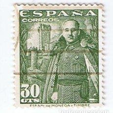 Sellos: EDIFIL 1025 FRANCO CASTILLO DE LA MOTA SELLO USADO 1948. Lote 210379691