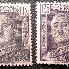 Sellos: ESPAÑA. 1060/61 GENERAL FRANCO. 1949. SELLOS NUEVOS Y NUMERACIÓN EDIFIL.. Lote 210414155