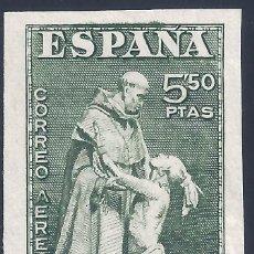 Sellos: EDIFIL 1004S DÍA DEL SELLO. FIESTA DE LA HISPANIDAD 1946. VALOR CATÁLOGO: 44 €. MNH **. Lote 210613373