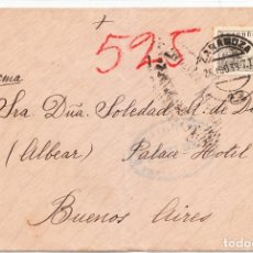 Sellos: 1939 DE ZARAGOZA A BUENOS AIRES SOLEDAD ALONSO DE DRYSDALE. Lote 210961927