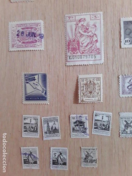 Sellos: Lote sellos viñetas postal antiguos - Foto 4 - 211673870