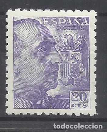 FRANCO 1940 EDIFIL 922 NUEVO* VALOR 2018 CATALOGO 0.65 EUROS (Sellos - España - Estado Español - De 1.936 a 1.949 - Nuevos)