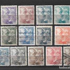 Sellos: GENERAL FRANCO. ESPAÑA. EMIT. 1949/53. Lote 213754247