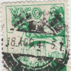 Sellos: LOTE B-SELLO VIÑETA GALICIA VIGO AÑO 1944. Lote 213880718