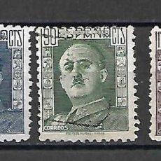 Sellos: GENERAL FRANCO. ESPAÑA. EMIT. 1946/47. Lote 213901722