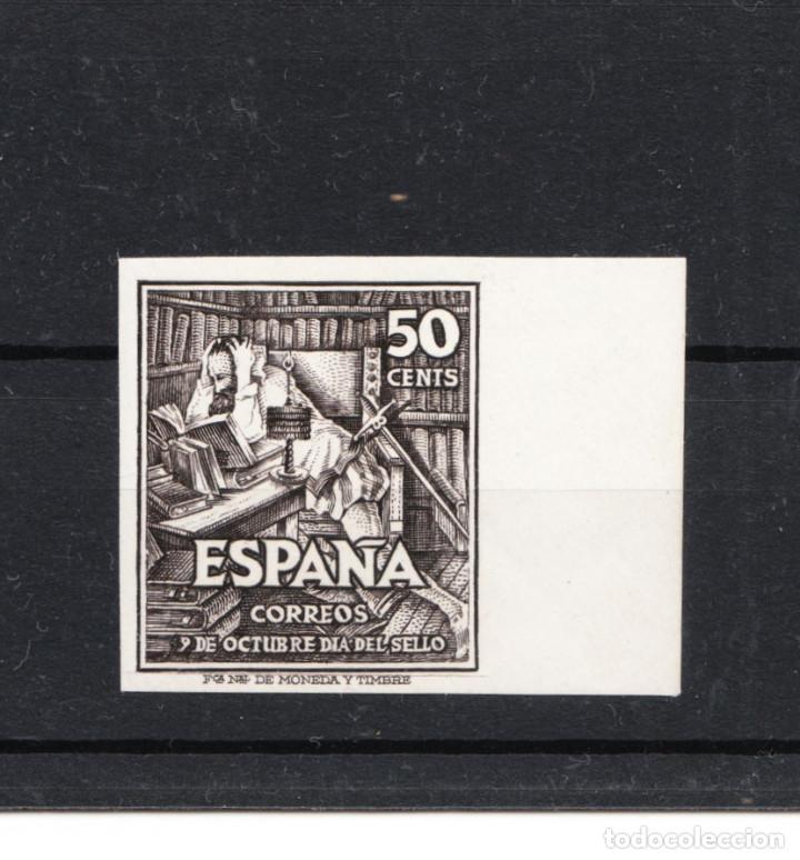 1947 EDIFIL 1012/13 DIA DEL SELLO NUEVOS SIN DENTAR CON GOMA Y SIN CHARNELA (Sellos - España - Estado Español - De 1.936 a 1.949 - Nuevos)
