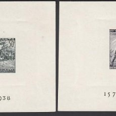 Sellos: ESPAÑA.1938 EDIFIL Nº 864 / 865 /**/, BATALLA DE LEPANTO. SIN FIJASELLOS, SIN DENTAR.. Lote 215483887