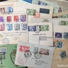Selos: LOTE DE 50 CARTAS Y TARJETAS CON MATASELLOS ESPECIALES DEL DÍA DEL SELLO,. Lote 217025505