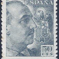 Sellos: EDIFIL 927 GENERAL FRANCO 1940-1945 (VARIEDAD 927DA...DENTADO 11 1/2 DE LÍNEA). FIRMA EXPERTO. MLH.. Lote 217156401