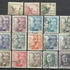 Sellos: 1704A-ESPAÑA SERIE COMPLETA FRANCO 1949 1044/61. Lote 217697491