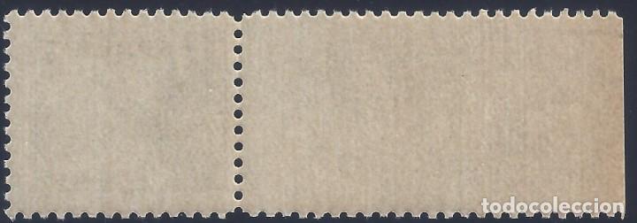 Sellos: EDIFIL 816B CID 1937-1940. EJEMPLAR CON BORDE DE HOJA. VALOR CATÁLOGO: 44 €. LUJO. MNH ** - Foto 2 - 218056061